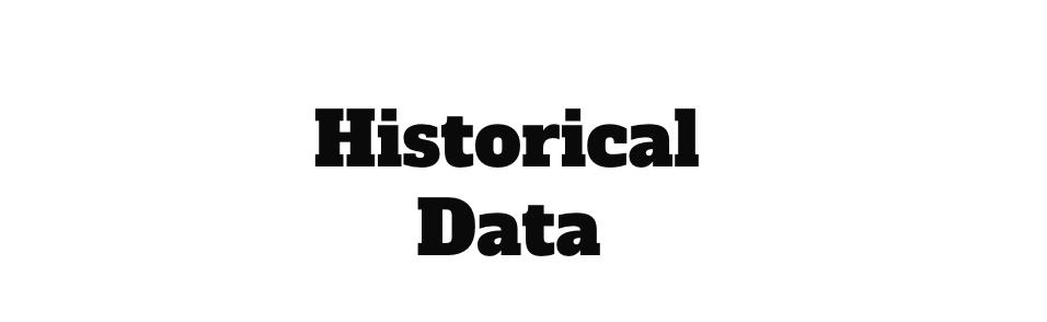 トラリピ|バックテストに使用するヒストリカルデータについて